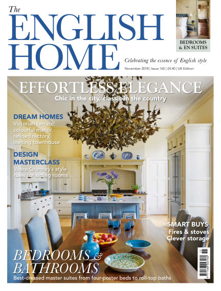 The English Home October 03, 2018 00:00