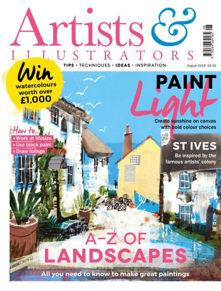 Artists & Illustrators July 13, 2018 00:00