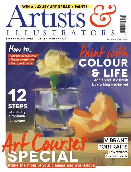 Artists & Illustrators August 09, 2019 00:00