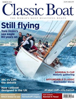 Classic Boat March 2018