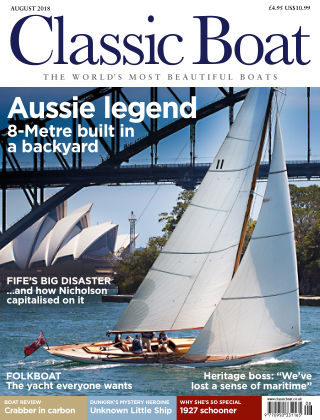Classic Boat August 2018