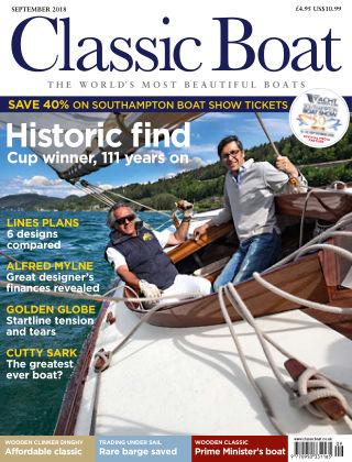 Classic Boat September 2018