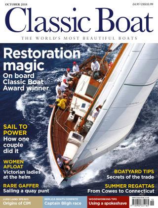 Classic Boat October 2018
