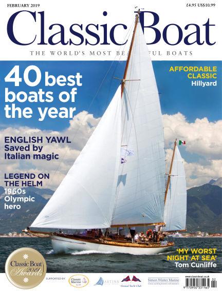 Classic Boat January 04, 2019 00:00