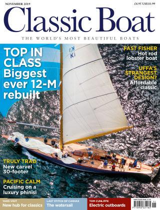 Classic Boat November 2019