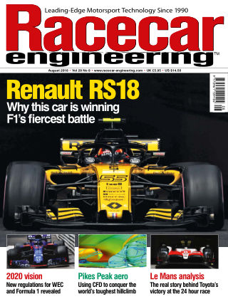 Racecar Engineering August 2018