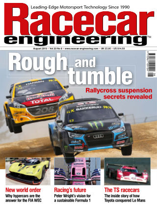 Racecar Engineering August 2019