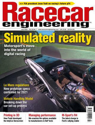 Racecar Engineering July 2020