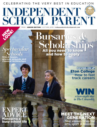 Independent School Parent Senior Autumn 2018