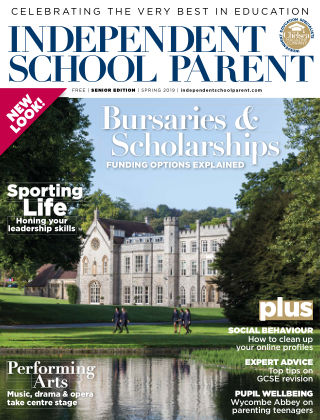 Independent School Parent Senior Spring 2019