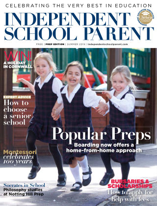 Independent School Parent Prep Summer 2019