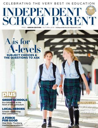 Independent School Parent Senior Autumn 2019