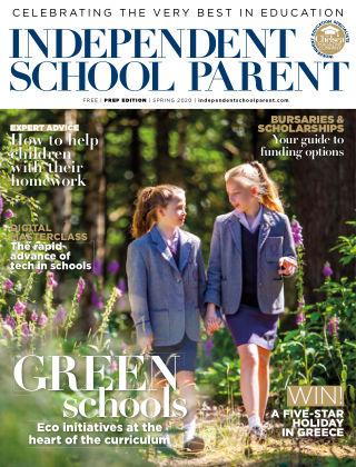 Independent School Parent Junior Spring 2020