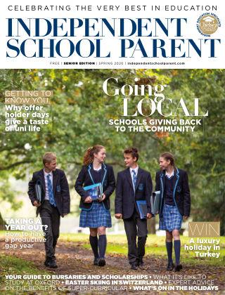Independent School Parent Senior Spring 2020