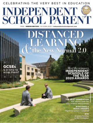 Independent School Parent Senior Autumn 2020