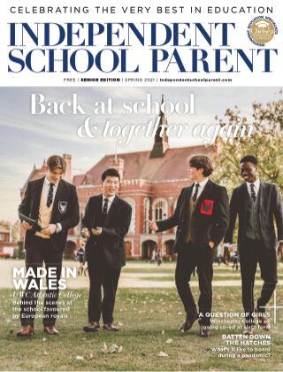 Independent School Parent Senior Spring 2021