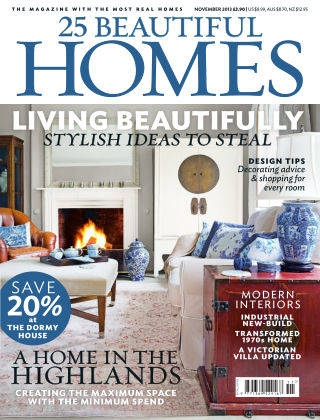 25 Beautiful Homes November 2013