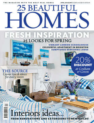 25 Beautiful Homes April 2014