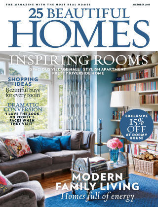 25 Beautiful Homes October 2014