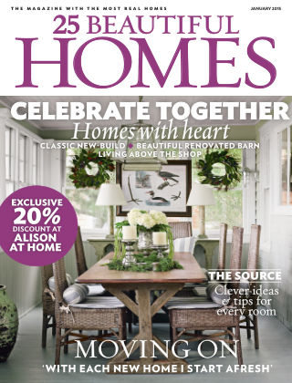 25 Beautiful Homes January 2015
