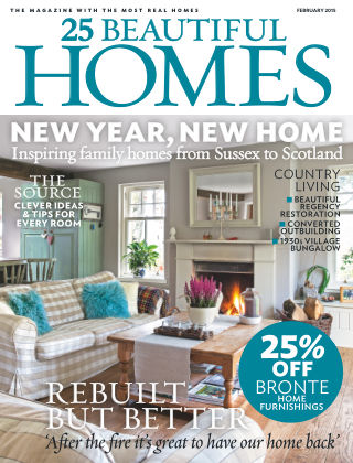 25 Beautiful Homes February 2015