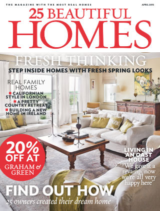 25 Beautiful Homes April 2015