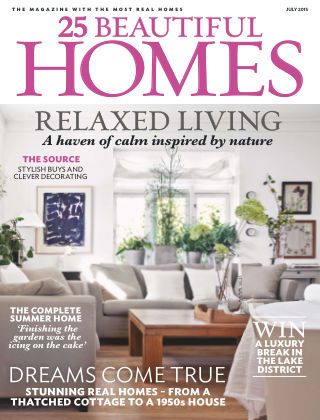 25 Beautiful Homes July 2015