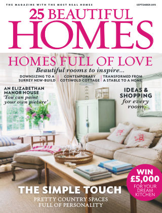 25 Beautiful Homes September 2015