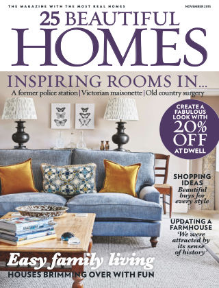 25 Beautiful Homes November 2015