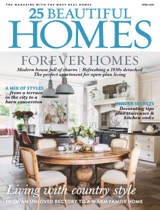 25 Beautiful Homes April 2016