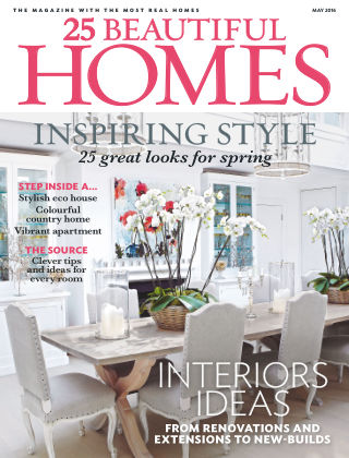 25 Beautiful Homes May 2016