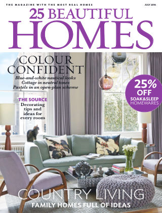 25 Beautiful Homes July 2016