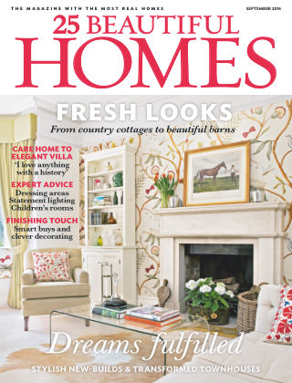 25 Beautiful Homes September 2016