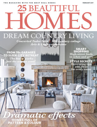 25 Beautiful Homes February 2017