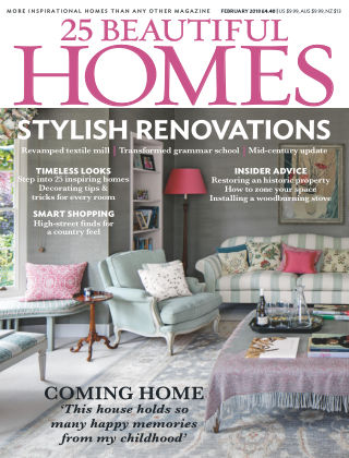 25 Beautiful Homes Feb 2018
