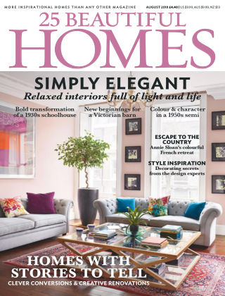 25 Beautiful Homes Aug 2018