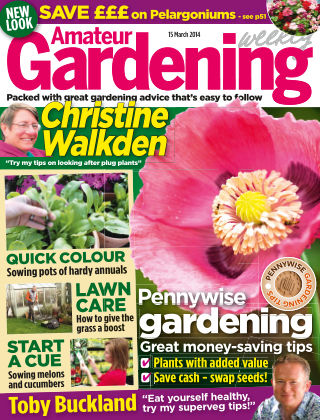 Amateur Gardening 15th March 2014