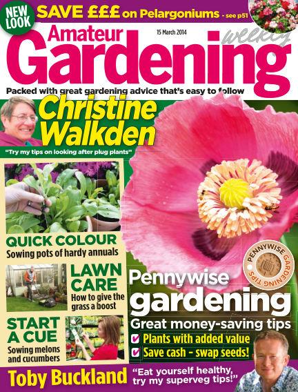 Amateur Gardening March 18, 2014 00:00