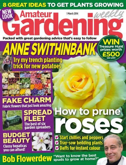 Amateur Gardening March 04, 2014 00:00