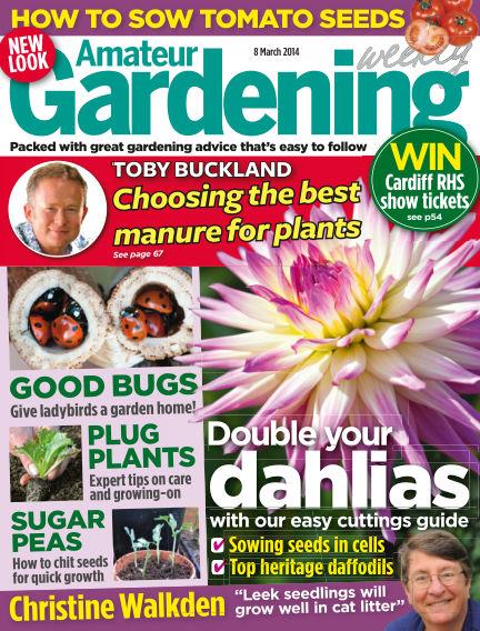 Amateur Gardening March 11, 2014 00:00