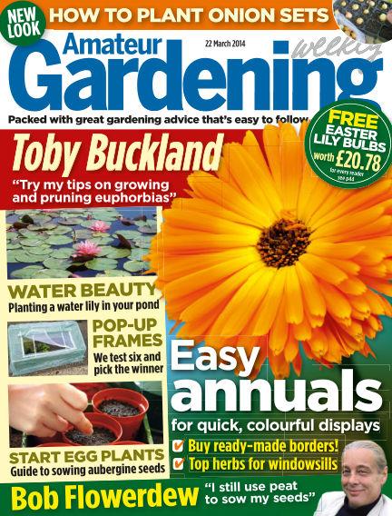Amateur Gardening March 25, 2014 00:00