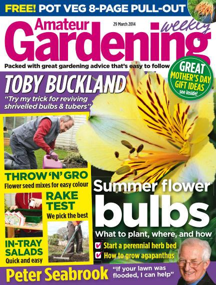 Amateur Gardening April 01, 2014 00:00