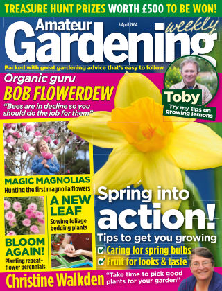 Amateur Gardening 5th April 2014