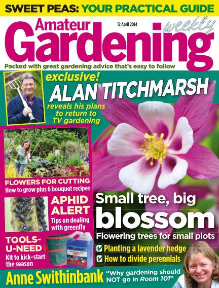 Amateur Gardening April 15, 2014 00:00