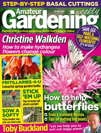 Amateur Gardening April 29, 2014 00:00
