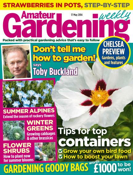 Amateur Gardening May 20, 2014 00:00