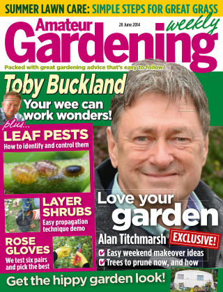 Amateur Gardening 28th June 2014