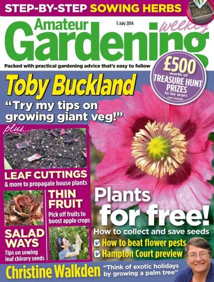 Amateur Gardening July 08, 2014 00:00