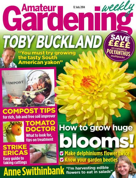Amateur Gardening July 15, 2014 00:00
