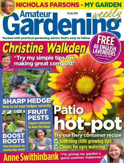Amateur Gardening July 22, 2014 00:00